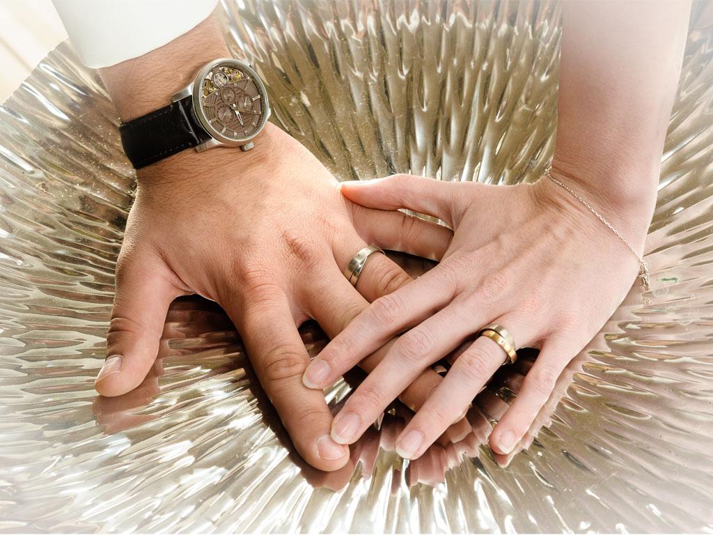 Leitmotiv Hände: Freie Trauung