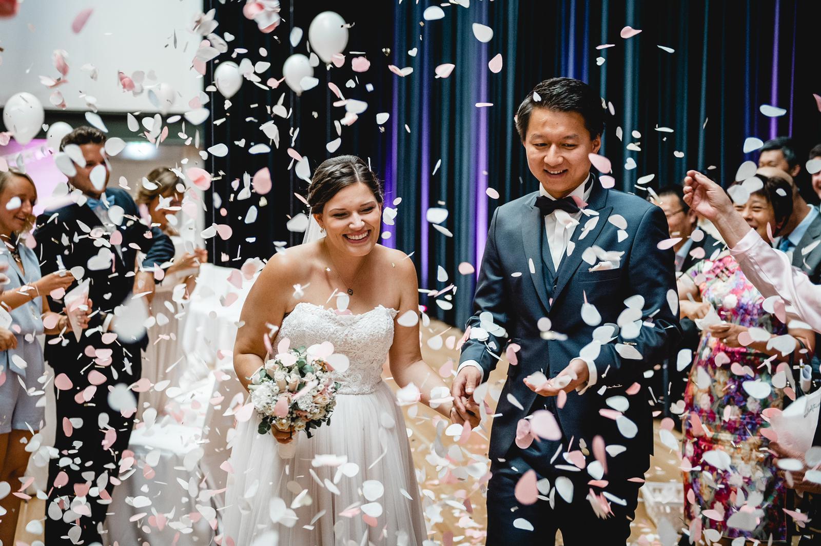 Wunderschöner Brautpaar-Auszug